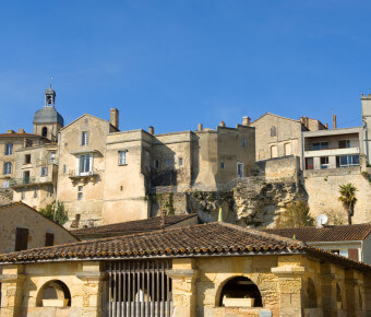 Village ancien de Bourg en Gironde - Gironde Tourisme/JB Nadeau