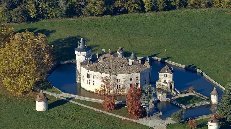 Château de la Brède © Gironde Tourisme - JB. Nadeau