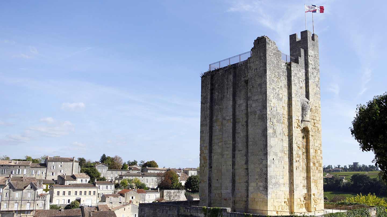 Saint-Emillion Tour du Roy © Gironde Tourisme - Phovoir