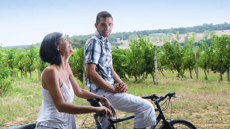Balade à vélo en Entre deux Mers @ Gironde Tourisme - Agence FX