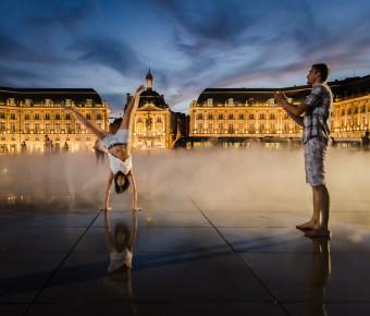 La Place de la Bourse de Bordeaux et Miroir d'eau de Bordeaux - ADT Gironde Tourisme/AgenceFX