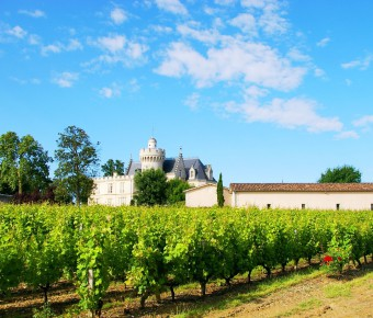 Vue sur le Chateau Pape Clément à Pessac - Gironde Tourisme/Hubert Sion