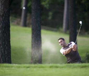Golfeur en Gironde - Gironde Tourisme/ JB Nadeau