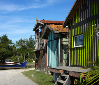 Cabanes ostréicoles du Bassin d'Arcachon au Port de Biganos - SIBA/Brigitte Ruiz
