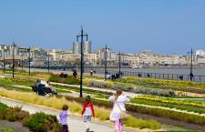Vue sur le jardin public des quais de Bordeaux - ADT Gironde Tourisme/Yannick Serrano