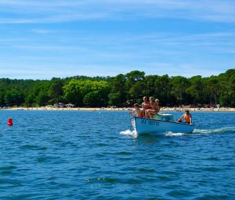 Lac de Cazaux (La Teste de Buch) et activités nautiques - Gironde Tourisme/Yannick Serrano