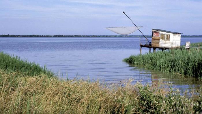 Carrelet - Estuaire de la Gironde © Gironde Tourisme -D. Schneider