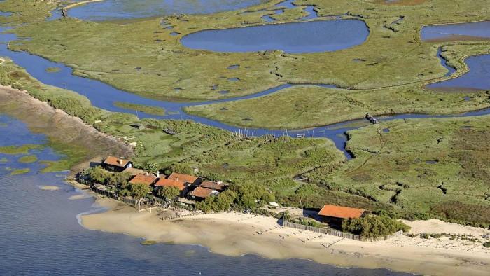 L'île aux oiseaux © Gironde Tourisme - D. Schneider