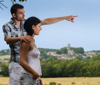 Couple Paysage La Sauve-Majeure - Gironde Tourisme/Studio FX