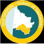 Minicarte - Sud-Gironde-Graves-et-Sauternes