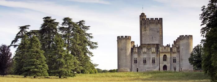 Le Château de Roquetaillade - Gironde Tourisme/Yannick Serrano