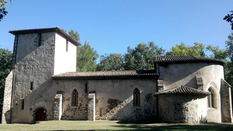Eglise du Vieux Lugo à Lugos @ Gironde Tourisme - N. Maintenat