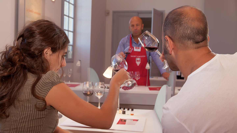 Dégustation de vins à Saint Emillion @ Gironde Tourisme - D. Helman