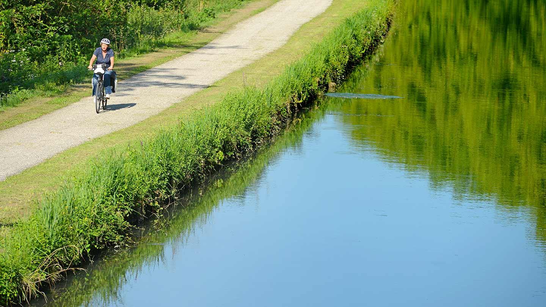 Canal des 2 mers à Vélo - Fontet © Gironde Tourisme - Joel Damase