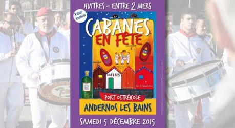 Cabanes en fête à Andernos
