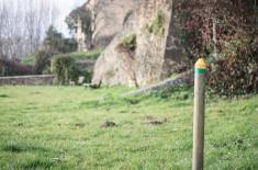 Pied des remparts - Saint-Macaire ©D. Remazeilles (Gironde Tourisme)
