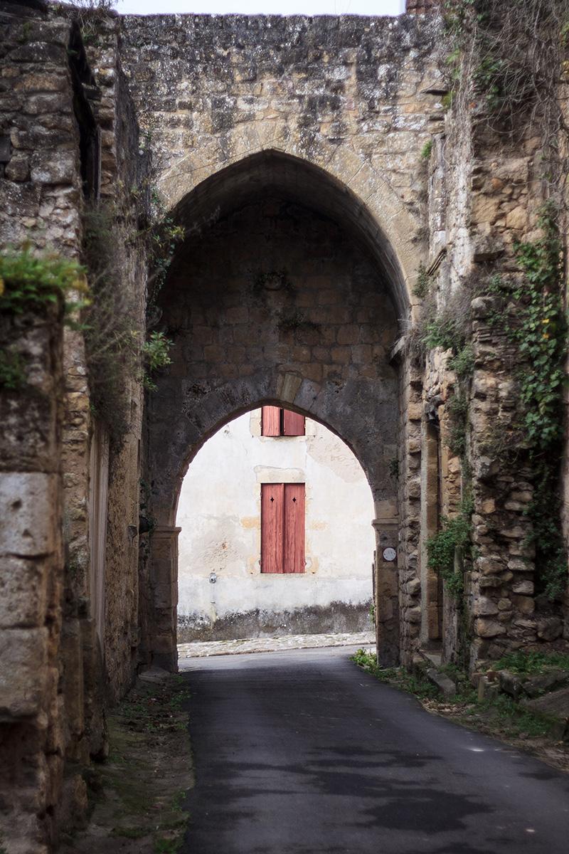 Porte de Rendesse- Saint-Macaire ©D. Remazeilles (Gironde Tourisme)