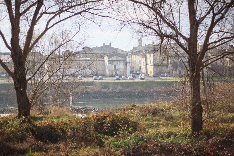 Langon sur l'autre rive - Saint-Macaire ©D. Remazeilles (Gironde Tourisme)