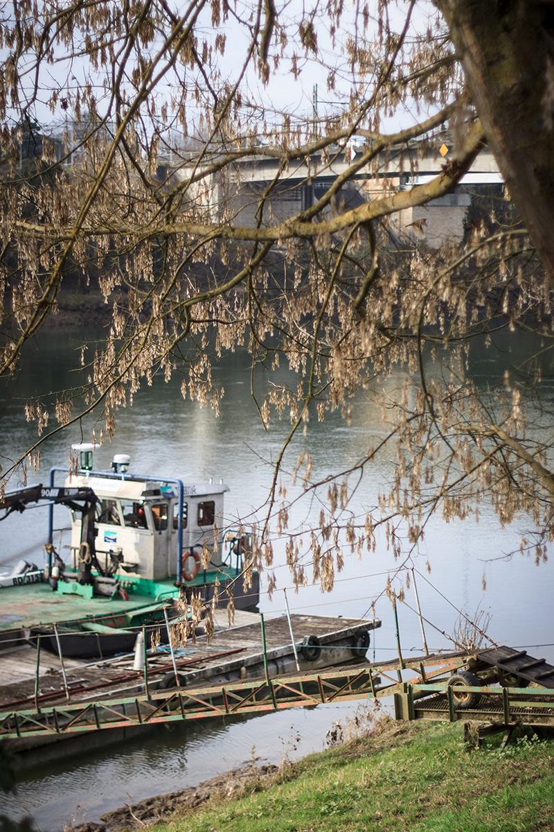 Bords de Garonne - Saint-Macaire ©D. Remazeilles (Gironde Tourisme)
