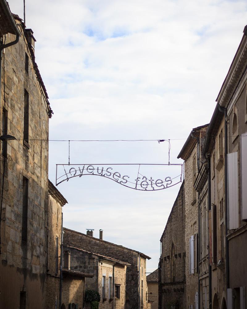 Rue de Saint-Macaire ©D. Remazeilles (Gironde Tourisme)