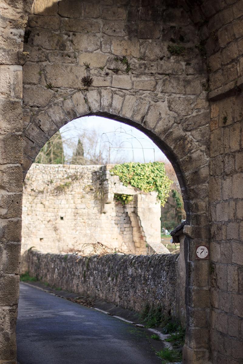 Porte de Thuron - Saint-Macaire ©D. Remazeilles (Gironde Tourisme)