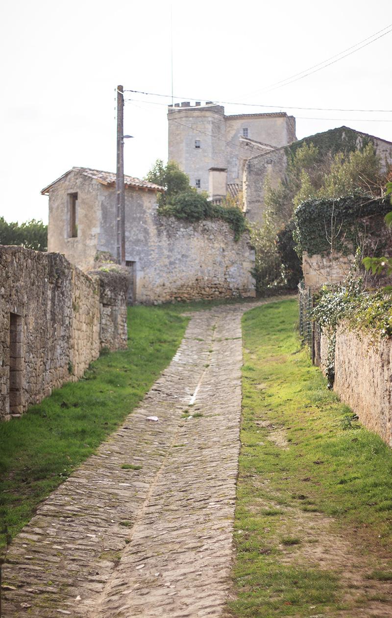 Rue du port Nova - Saint-Macaire ©D. Remazeilles (Gironde Tourisme)
