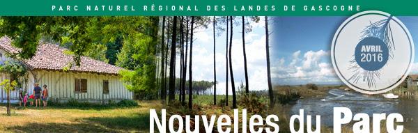 Printemps 2016 dans le Parc naturel régional des Landes de Gascogne