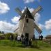 Panorama sur les moulins à vent de Gironde