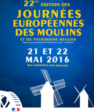 Journées Européennes des Moulins et du Patrimoine Meulier 2016