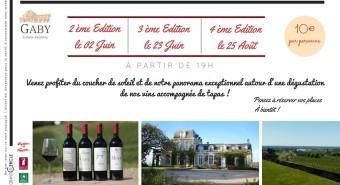 Apéritifs Vignerons au Château Gaby
