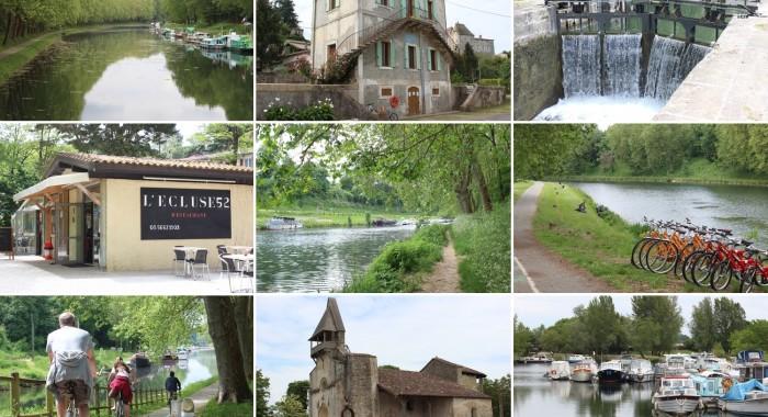 Castets-en-Dorthe et le Canal des Deux Mers