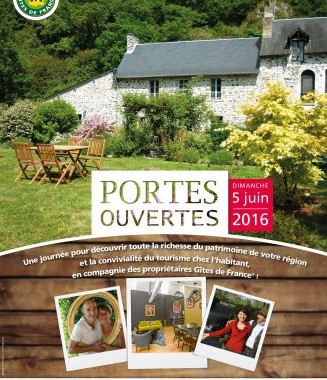 Journée portes ouvertes Gîtes de France 2016