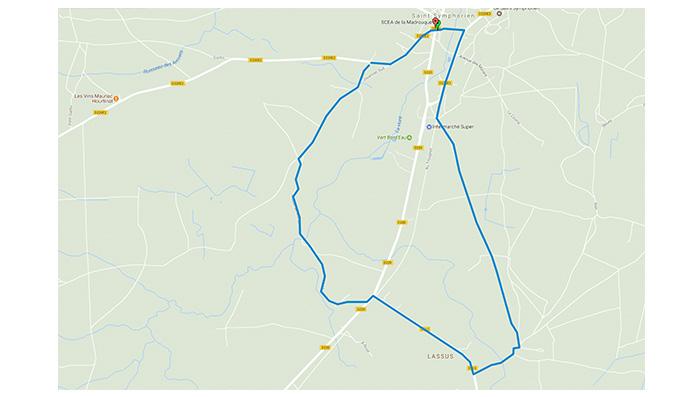 Plan-googlemaps-randonnée-st-symphorien