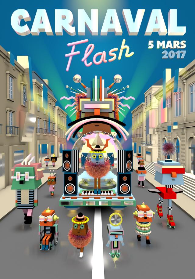 Carnaval flash Bordeaux © guillaumit