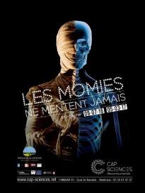 """Exposition """"Les momies ne mentent jamais"""" © Cap Sciences"""