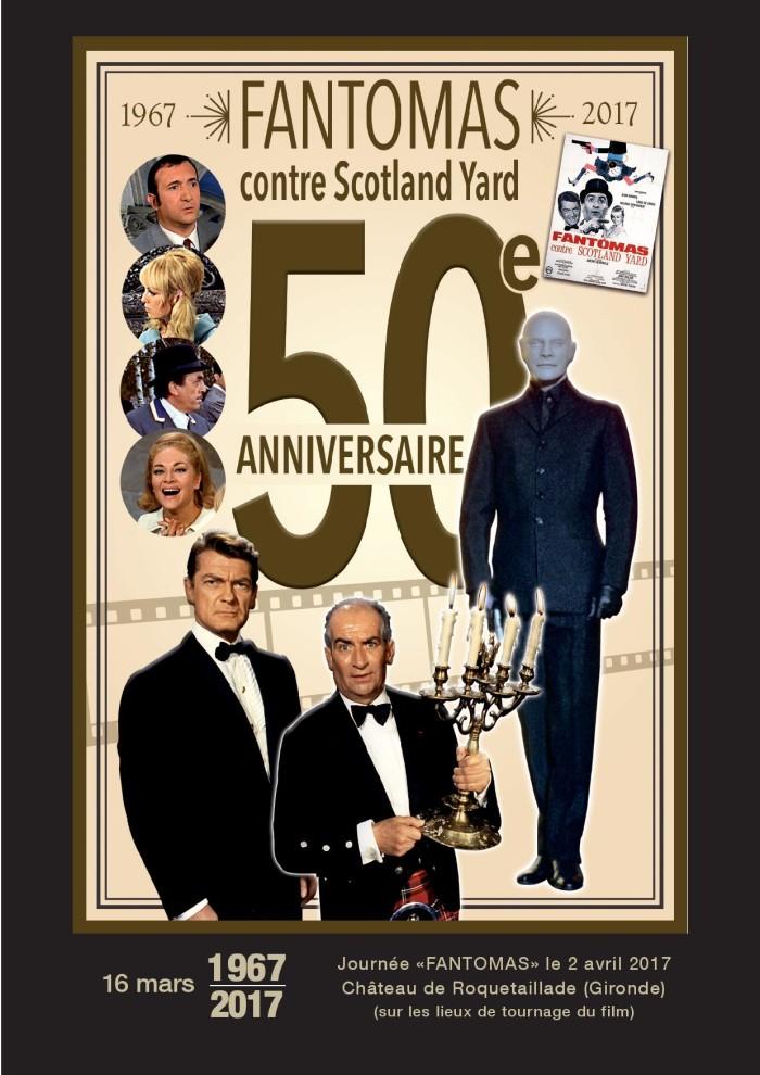 Fantomas contre Scotland Yard - 50e anniversaire