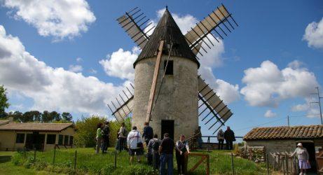 Le moulin de Vensac a retrouvé ses ailes!