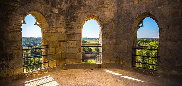 Clocher de l'abbaye de la Sauve-Majeure