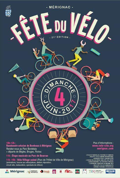 Fête du Vélo 04 juin Mérignac 2