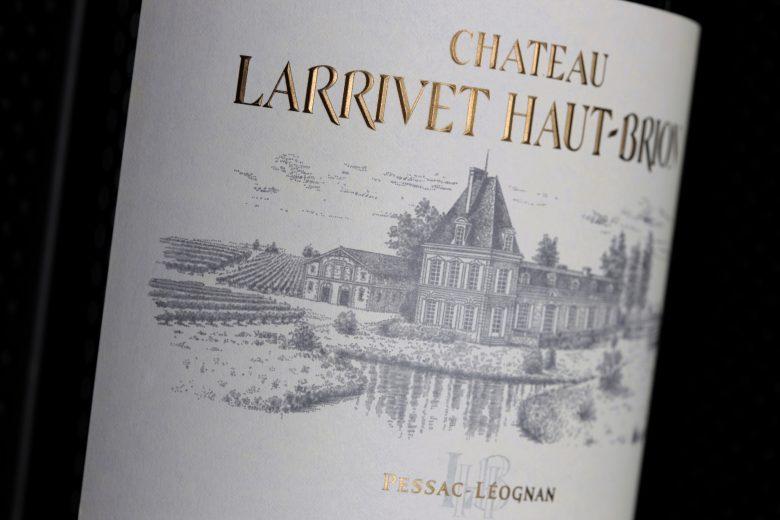 Château Larrivet Haut-Brion détail étiquette_11