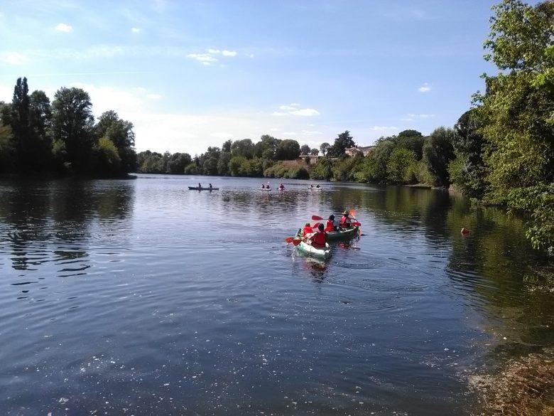 Canoe Castillon la Bataille