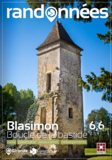 Randonnée à Blasimon