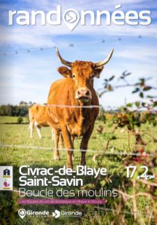 Randonnée à Civrac-de-Blaye et Saint-Savin
