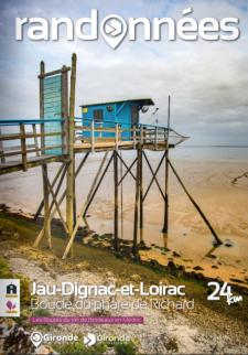 Randonnée à Jau-Dignac-et-Loirac