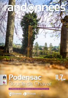 Randonnée à Podensac
