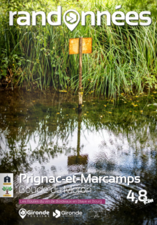 Randonnée à Prignac et Marcamps