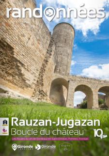 Randonnée à Rauzan-Jugazan