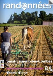 Randonnée à Saint-Laurent-des-Combes
