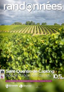 Randonnée à Saint-Quentin-de-Caplong