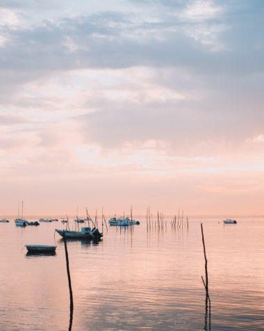 La Gironde en bateau